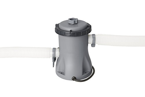 Bestway Flowclear 330gal Filter Pump Swimming Pool, Grey, 27x25x27 cm