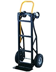 Harper Trucks Heavy Duty 700 lb Capacity Nylon Convertible Hand Truck and Dolly