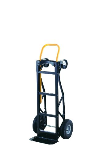 2in 1 Hand Truck - Harper Trucks 700 lb Capacity Glass Filled Nylon Convertible Hand Truck and Dolly with 10