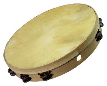 Pandereta (frame drum) Ø50 cm, madera, doble
