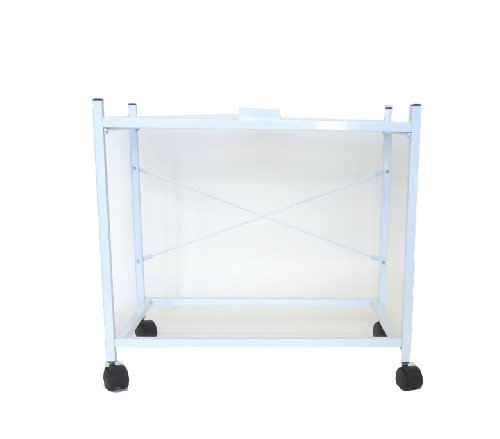 YML 2-Shelf Stand for 2424 and 2434 White (Playstands 2)