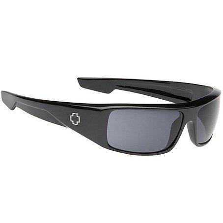 Spy Logan Sunglasses - Spy Optic Steady Series Fashion Eyewear - Color: Black/Grey, Size: One Size Fits - Logan Spy Optic Sunglasses