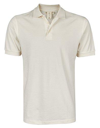 Organic Pique Polo Shirt - B&C Men's Fair Trade Certified Organic 100% Cotton Polo Shirt Top
