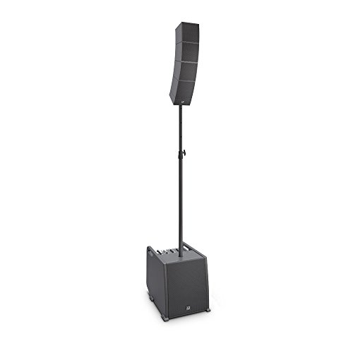 LD Systems CURV 500 ES Portable Array System Entertainer Set Including Distance Bar and Speaker Cable, Black (