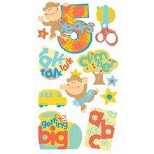 EK Success Vellum Stickers - 5 Years Old