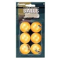 Franklin Sports Table Tennis Balls-6pk. by Franklin Sports