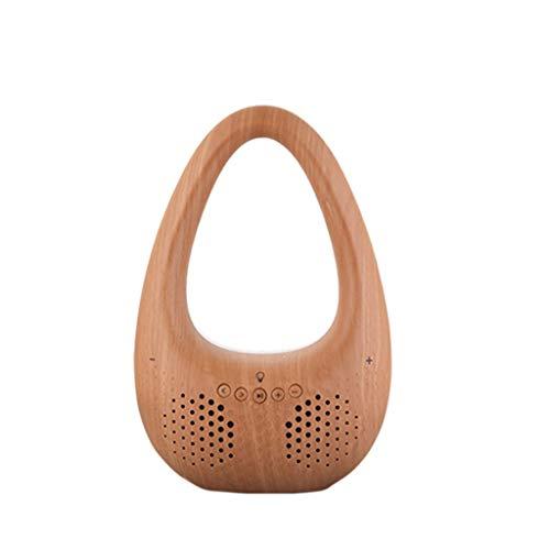 - yAyusi V8 HiFi Stereo Portable Lamp Wireless Bluetooth Speaker Doss Soundbox Tablet TV Brown Maoyou