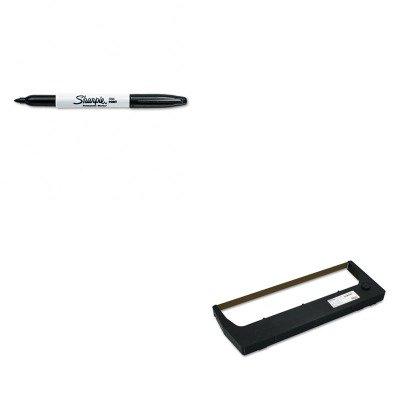KITPRT255048402SAN30001 - Value Kit - Printronix 255048402 Ribbon (PRT255048402) and Sharpie Permanent Marker ()