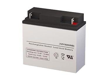 Amazon.com: CP12 – 18 12 Volt 18 Amph SLA Batería de ...