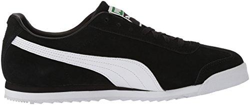 Puma Mænds Roma Ruskind Mode Sneaker Puma Sort-puma Hvid-puma Hold Guld-amazon Grøn 2JUpu