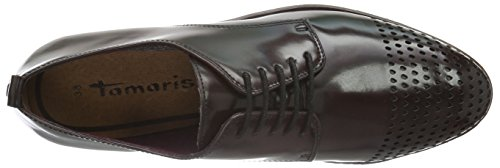 Tamaris Damen 23301 Oxford Rot (Bordeaux 549)