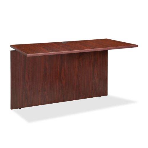 Lorell LLR68706 Executive Desk, Mahogany by Lorell