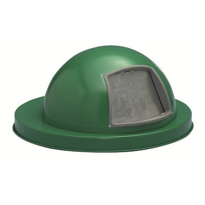 Expanded Metal Series Heavy Duty Dome Top Cover Finish: Powder Coat Green