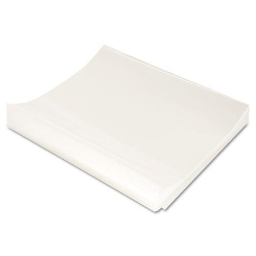 Cline Polypropylene Report Cover - C-Cline 31347 Report Covers Only, Polypropylene, Economy, Clear, 11 x 8 1/2, 100/BX by C-Cline