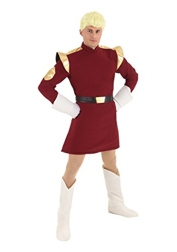Zapp Brannigan Costume with Wig X-Large -