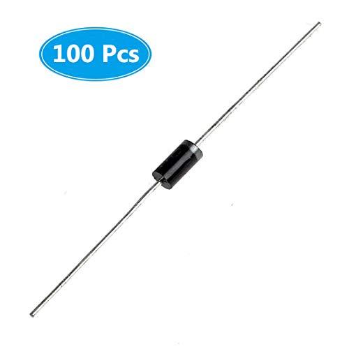 MCIGICM 100Pcs 1N5819 Schottky Rectifier Diodes, 1A 40V DO-41 (DO-204AL) Axial 5819