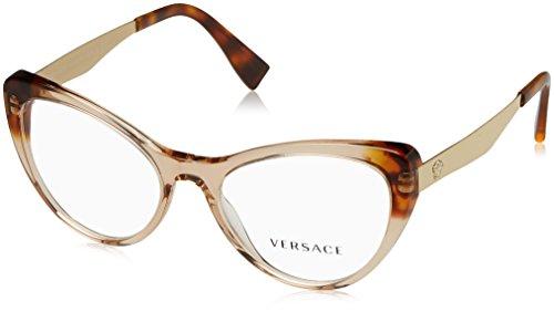 Eyeglasses Versace VE 3244 5241 TRANSP LIGHT - Versace New Glasses