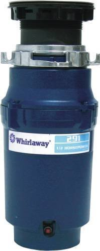 Anaheim 291-pc Whirlaway Garbage Disposal with Plug, 1/2 hp