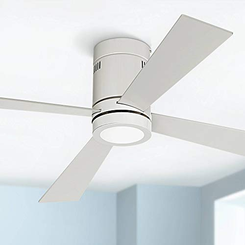 52 Quot Revue Modern Hugger Low Profile Ceiling Fan With Light
