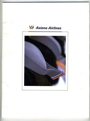 asiana-airlines-1991-information-booklet-seoul-korea
