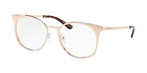 Michael Kors 0MK3022, Monturas de Gafas para Mujer, Rose Gold, 53: Amazon.es: Ropa y accesorios