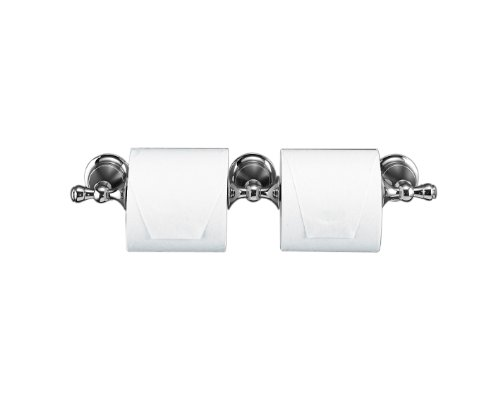 Kohler K-16152-CP Revival Double Toilet Tissue Holder, Polished Chrome by Kohler