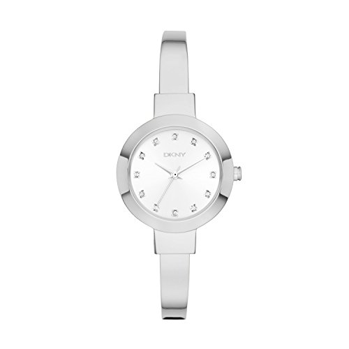 Dkny Womens Stainless Steel Bangle Watch (DKNY Women's NY2409 STANHOPE Stainless Steel Watch)