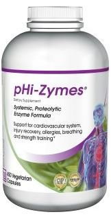 Baseline Nutritionals pHi-Zymes (Systemic Proteolytic Enzymes) 450 count for Inflammation Support, Cardiovascular Health For Sale