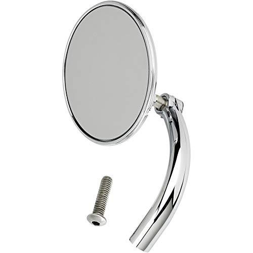 Biltwell UM-CIR-HD-CP Round Perch Mount Mirror for H-D - Chrome,