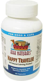 Ark Naturals Happy Traveler All Natural Calming Formula, Capsules - 30 ea (Ark Naturals Happy Traveler)