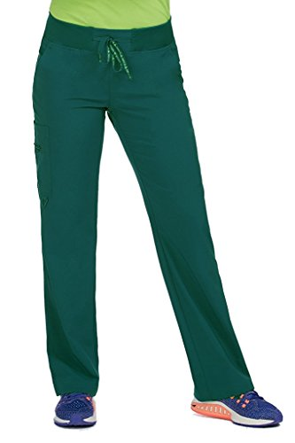 Med Couture 8747 Womens Activate Transformer Scrub Pant Hunter L Petite