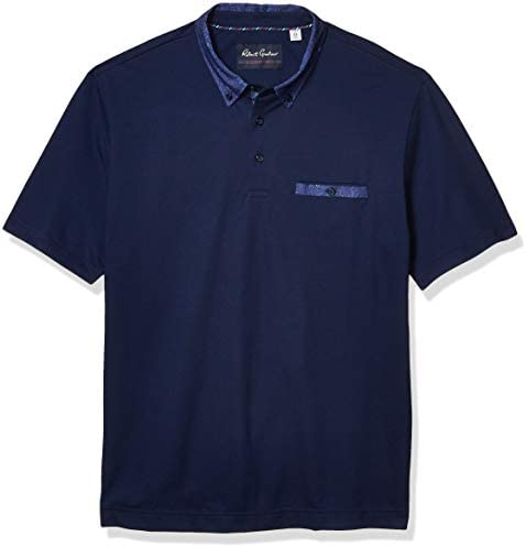 Robert Graham Men`s S/S Knit Polo