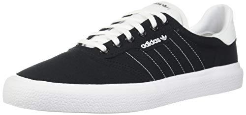 adidas Originals 3MC Sneaker, Black/White/Black, 12.5 M US