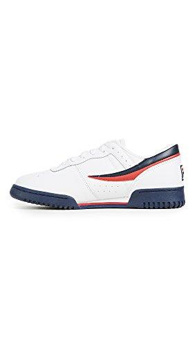 Classic Men's Fila Sneaker Lea Original Navy Red White Fitness fInxpdwqn