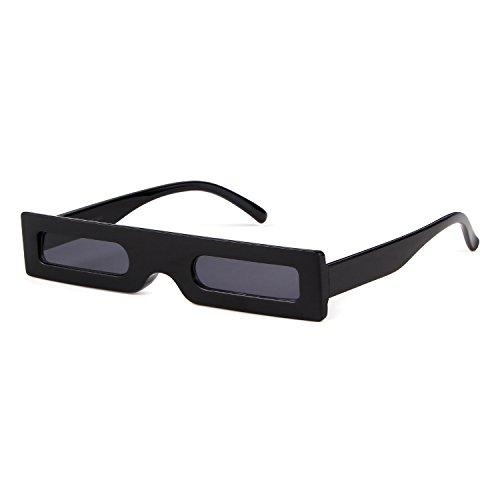 ADEWU Aquare Vintage Sunglasses for Women and Men Novetly Funny Designer Shapes Sunglasses