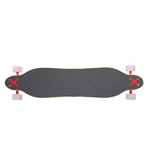 Baoblaze Longboard Anti-naufrage De Planche à Roulettes En Alliage D'aluminium