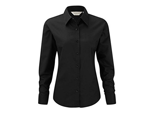 ATELIER DEL RICAMO - Camisa deportiva - para mujer negro