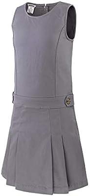 Bienzoe Girl's Cotton Stretchy School Uniform Jumper D