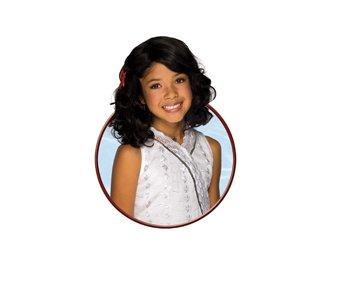 Gabriella Deluxe Wig Costume Accessory (Gabriella High School Musical Costume)