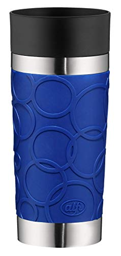 Alfi Thermos Cup, Stainless Steel, Stainless Steel, Royal Blue, 8,2 x 8,2 x 19,0 cm
