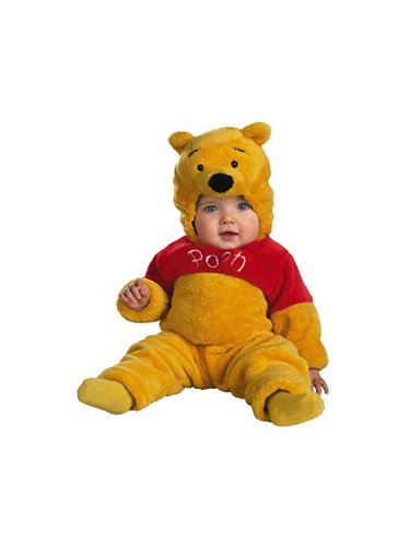 [Winnie The Pooh Deluxe Costume - Baby 12-18] (Baby Girl Spider Halloween Costume)