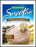 Chocolate Banana Smoothie Mix/ Concord Foods(Pack of 12)