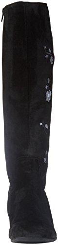 Gabor Basic, Stivali Donna Nero (10 Schwarz Grau)