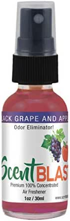 Scentblast Fresh 100% Oil Based Air Freshener (Black Grape & Apple)