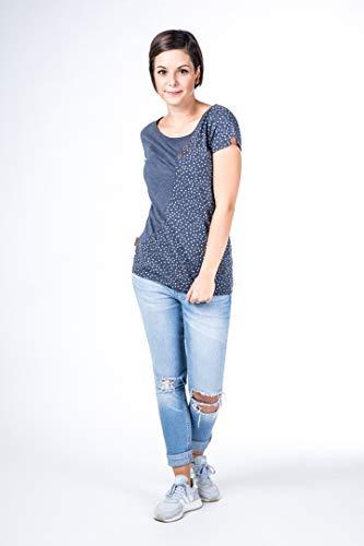 Blue shirt Zoe donna Alife Kickin T da O7vHqnvz