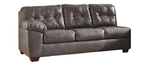 Enjoyable Ashley Furniture Signature Design Alliston Contemporary Right Arm Facing Sofa Sectional Component Only Gray Caraccident5 Cool Chair Designs And Ideas Caraccident5Info