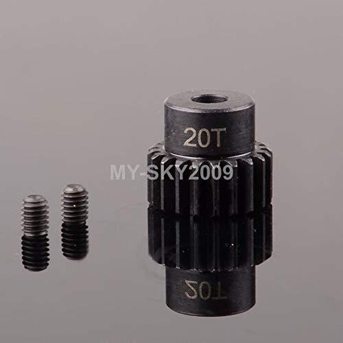 Part & Accessories Moter Gear Pinion (32-p) 19T 20T 21T M0.8 5mm For RC Model Traxxas Revo Summit Slash - (Color: 20T) ()