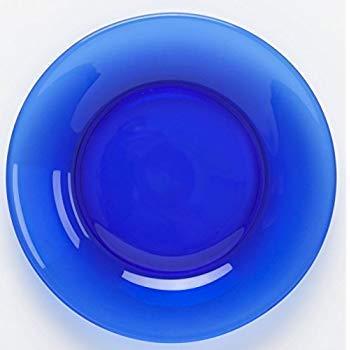 Anchor Hocking Blue Glass 10