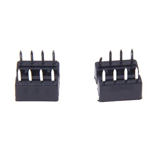 Socket Adapter - SODIAL(R)10 PCS 8 Pin DIP IC Socket Adapter