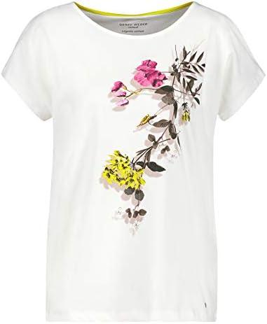 Gerry Weber damska koszulka z kwiatowym rankiem i bawełną: Odzież